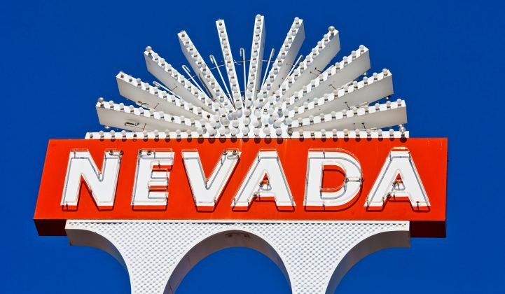 Nevada Just Became the Most Exciting State for Energy Storage Policy
