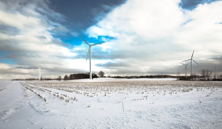 New York has abundant wind and hydro resources upstate, but is struggling to move off fossil fuels in the populous south.