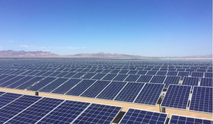 NextEra will add two 115-megawatt battery systems to its Blythe Solar Center as part of SCE's massive storage procurement. (Credit: NextEraEnergy Resources)