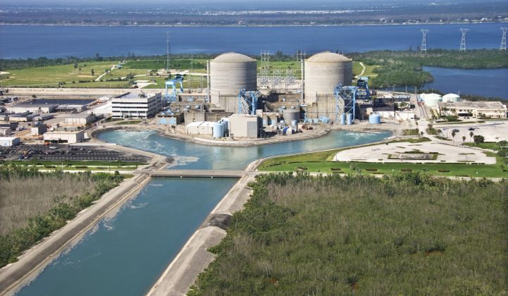 The Florida-based utility recently withdrew from the nuclear energy trade group.