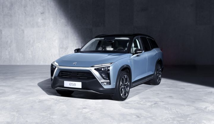 The company just started making deliveries of its first volume-manufactured vehicle, the ES8 SUV, in June 2018.