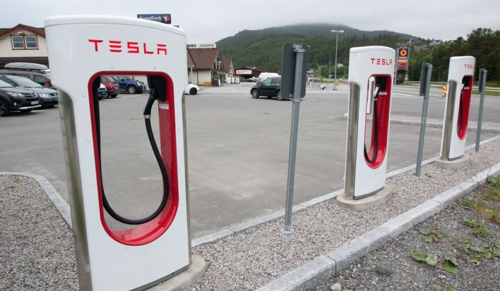 Norway's EV Charger Rollout Shifts Up a Gear