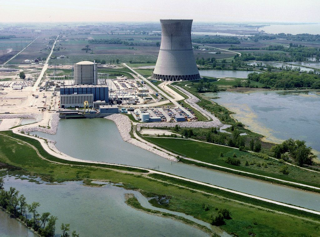 The David-Besse power plant is one of two nuclear plants set to receive more than $1 billion in state subsidies under Ohio's House Bill 6.