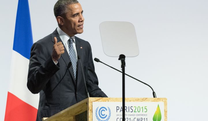 Obama Wins Praise as a Champion of Clean Energy Despite Political Gridlock