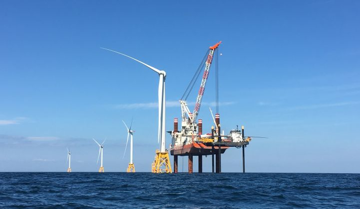 The U.S. has just 30 megawatts of offshore wind capacity today, but gigawatts on the horizon.