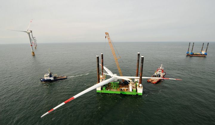 Building on Land Saves Big in Offshore Wind Construction, Study Finds