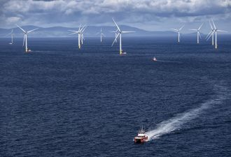 The U.K. plans to auction 2 gigawatts of offshore wind capacity a year to 2030. (Credit: Orsted)