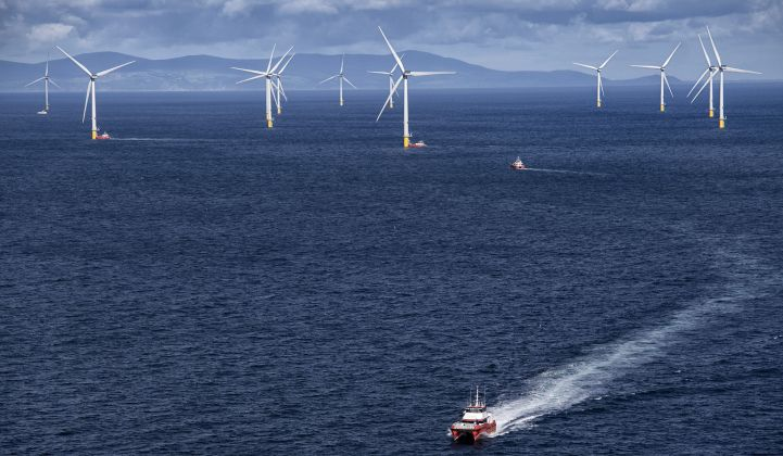 Environmentalists want the cumulative impact of multiple offshore wind projects to be considered. (Credit: Ørsted)