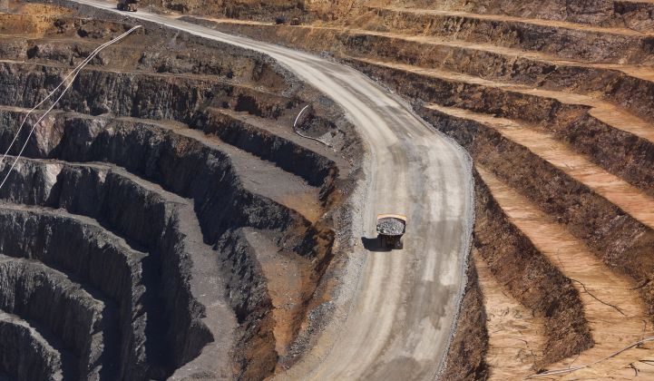 Open-pit mines: The next play in energy storage?