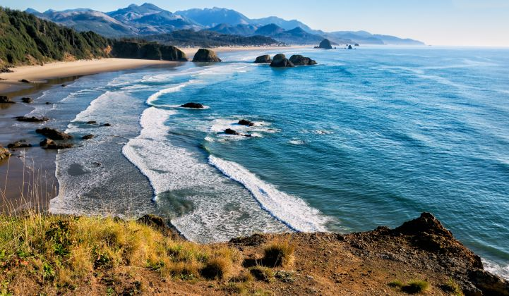 A pilot-scale project off Oregon's coast was abandoned a few years ago.