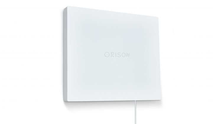 Orison's battery panel packs 2.2 kilowatt-hours, and homeowners can plug it in by hand. (Image: Orison)