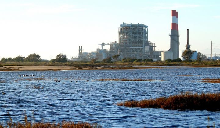 A dying breed? A gas plant near Oxnard that was closed last year.