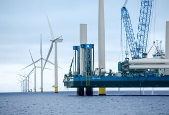 Ørsted hopes to scale up the planned 8 MW turbines at some of its U.S. sites. (Credit: Ørsted)