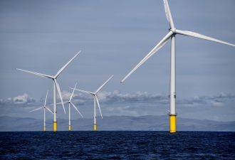 Britain is heading into the winter season with holes in its offshore wind fleet. (Credit: Ørsted)