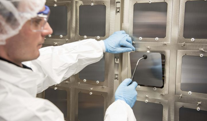 Oxford PV is claiming a 27.3 percent efficient solar cell.
