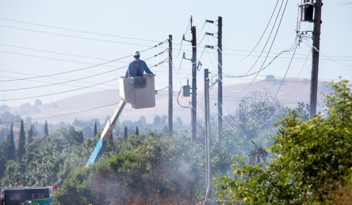 The coronavirus pandemic has complicated PG&E's wildfire mitigation efforts.