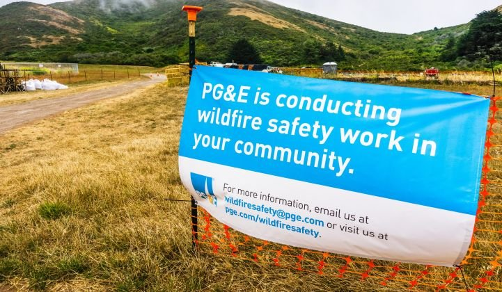 Utility Pacific Gas & Electric outlined a reorganization plan Monday. (Shutterstock)