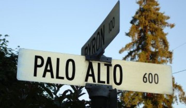 Palo Alto Goes Solar, 80 Megawatts at 6.9 Cents per Kilowatt-Hour