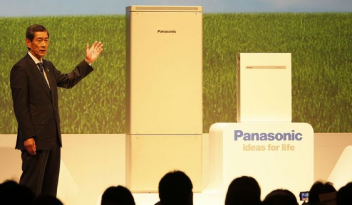 Panasonic Looks to California for Lessons on Solar-Storage Integration