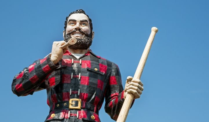 What can Paul Bunyan teach us about wind repowering?