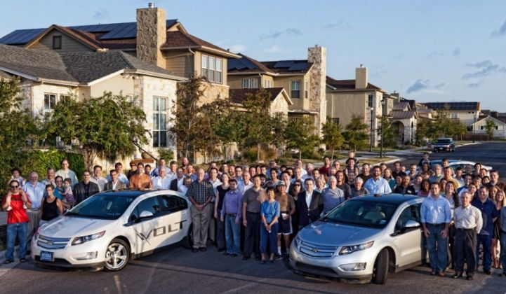 GM, OnStar Link Chevy Volts With Pecan Street Project | Greentech Media