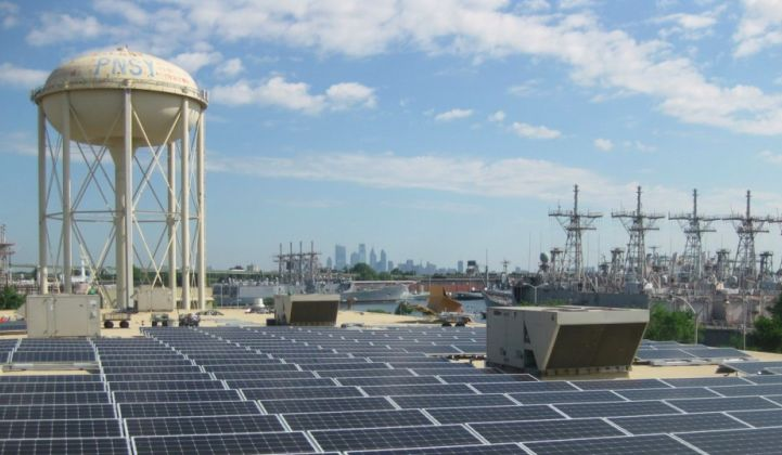 Ameresco's portfolio includes the Philadelphia Navy Yard's microgrid.