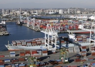 The Port of Long Beach handles more than $200 billion of cargo each year. (Credit: Port of Long Beach)