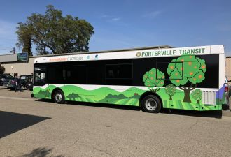 Porterville Transit will charge its electric buses with the help of SCE-built infrastructure. (Photo: SCE)
