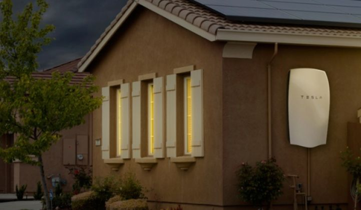 What's the Value of a Tesla Powerwall? $50 per Month, Bets Green Mountain Power