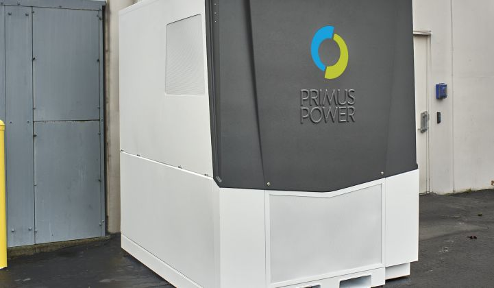 With a New Design, Primus Power Thinks Flow-Battery Improvements Can Compete With Lithium-Ion
