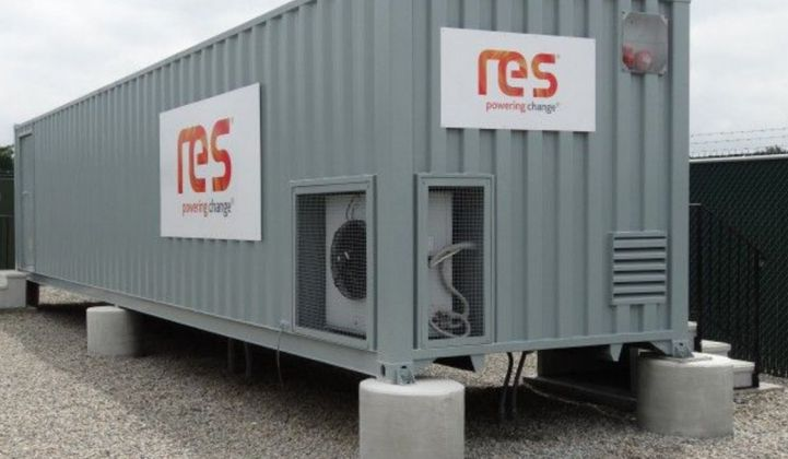 UK Developers Surprised by National Grid's Contract for 20MW of Storage With RES