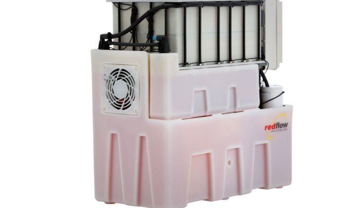 Redflow Is Building a Small Flow Battery for Long-Duration Storage in Homes