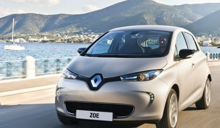 Renault Helps an Island Ditch Fossil Fuels With Vehicle-to-Grid Technology