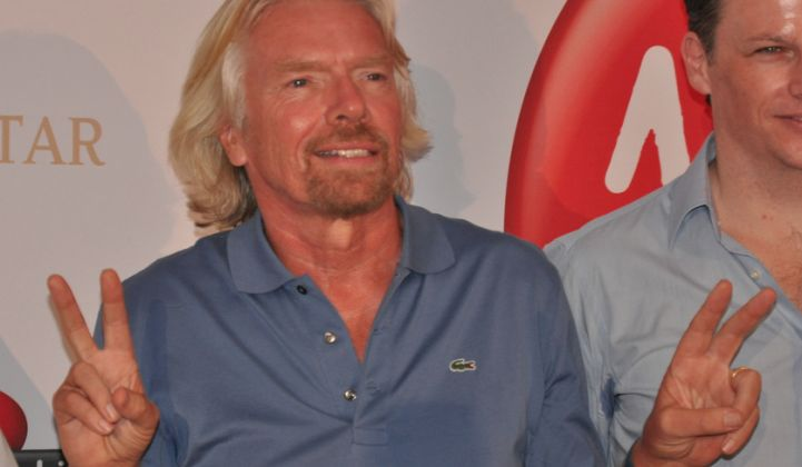 No, Richard Branson and Virgin Are Not (Yet) Looking to Compete With Tesla