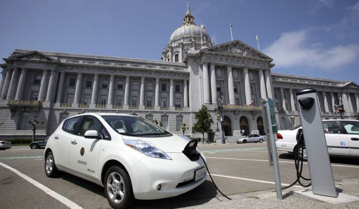 PG&E rolls out its program for 7,500 EV chargers across Northern and Central California.