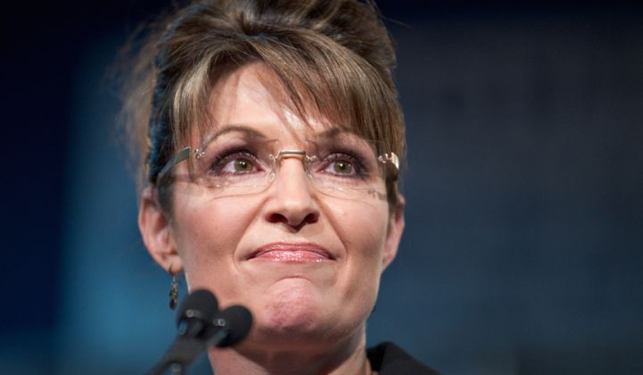 Sarah Palin Wants to Be Donald Trump's Energy Secretary