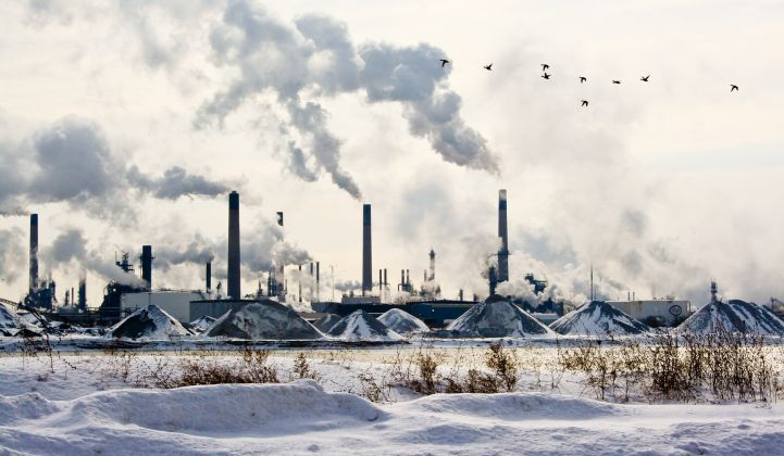 Much of Canada's petrochemicals industry is clustered in Sarnia, Ontario's