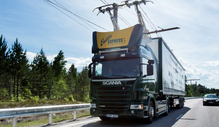 The Nordic Secret to Heavy-Vehicle Electrification: Old-Fashioned Cables