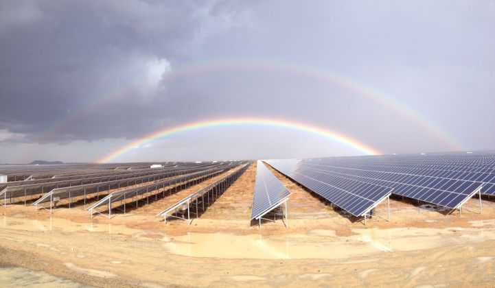Scatec's Kalkbult solar plant in South Africa. (Credit: Scatec)