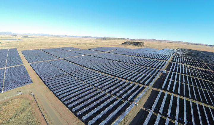 South Africa's procurement of wind and solar will need to be stepped up once the coronavirus restrictions end. (Credit: Scatec Solar)