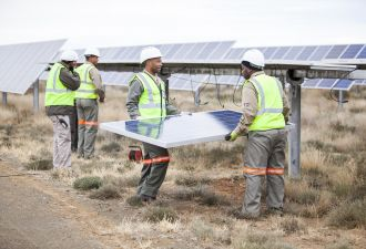 Scatec's CEO says solar can deliver power at half the price of diesel in Africa.