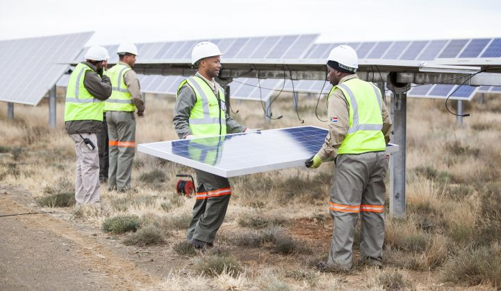 Scatec Solar CEO says PV can deliver power at half the price of diesel in Africa.