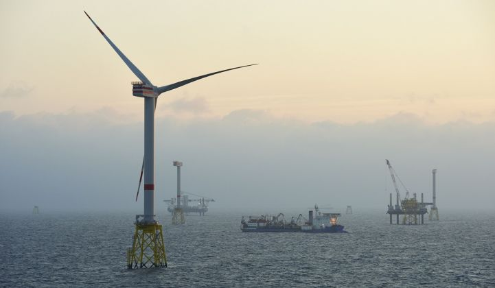 Little is known about Senvion's proposed 12-megawatt offshore turbine.