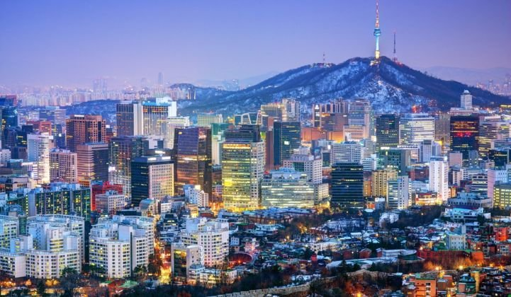 South Korea seeks to achieve a 20 percent renewables mix by 2030.