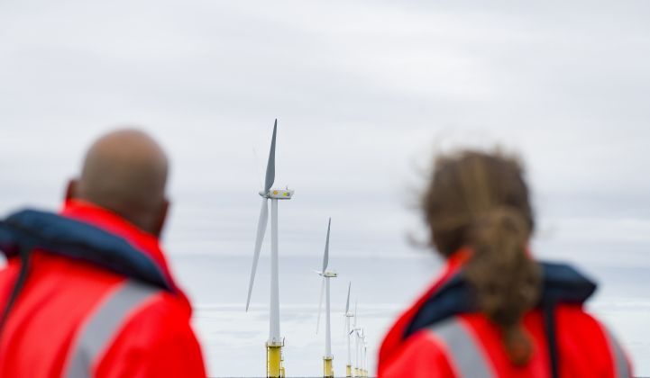 Shell and Eneco's CrossWind consortium will build a 759 MW Dutch offshore wind farm by 2023. (Image: Shell)