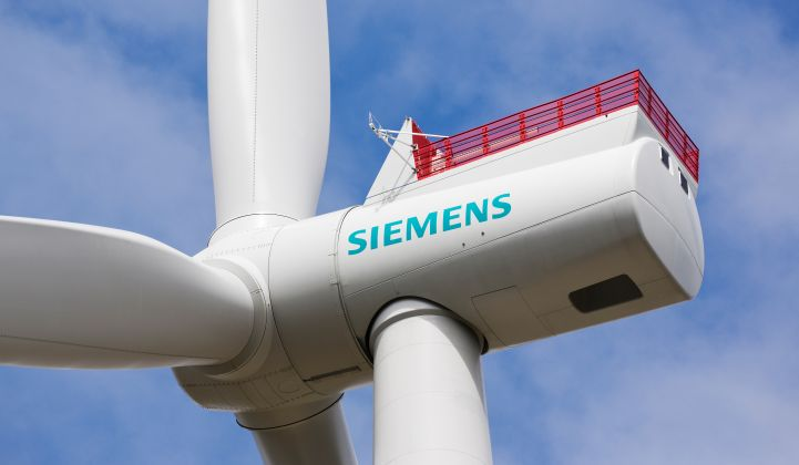 Siemens Gamesa offshore wind turbine Albatros