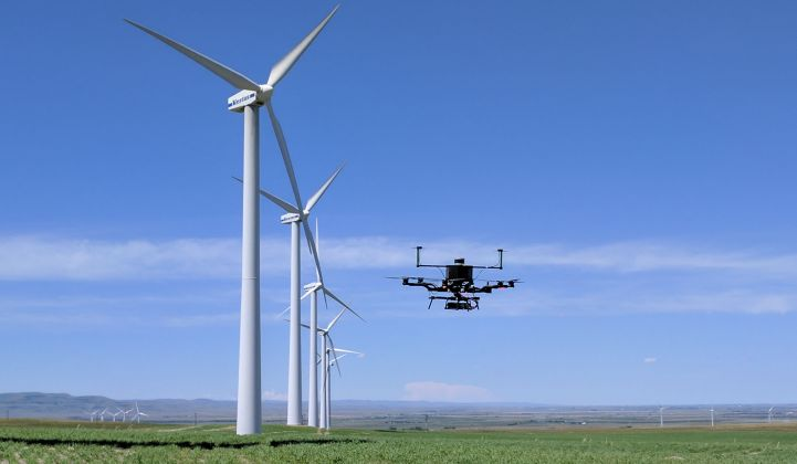 Drones are coming to the wind industry in a big way.