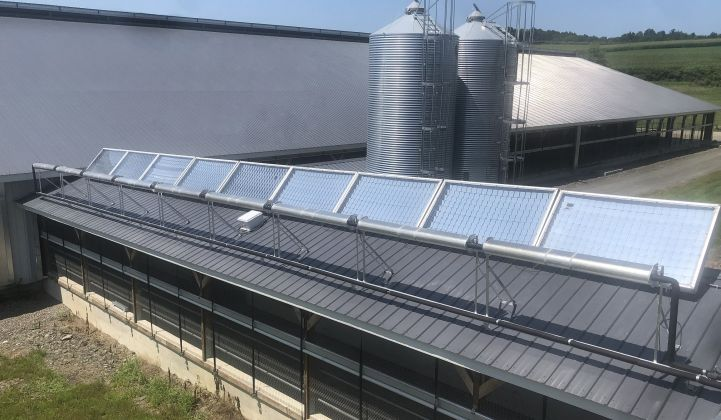 The craft beer industry could be an ideal market for solar thermal technology to edge out natural gas.