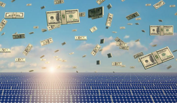 How should we model tax cuts in financial returns for solar?