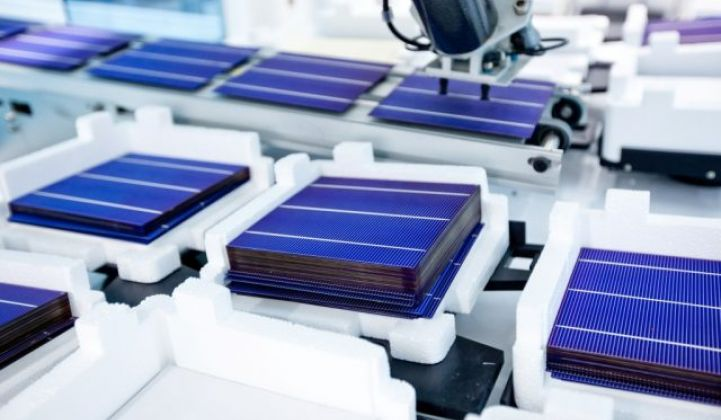 Solar panels, solar manufacturing and solar trade case.